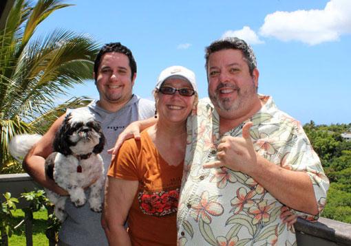 Chuck, Sharon, David and Petey Lasker
